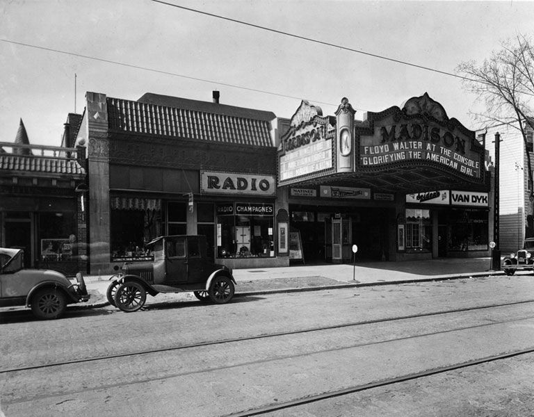The Madison, ca. 1929 or 1930. Credit: oscars.org.
